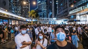 More Unrest as Hong Kong Protesters Defy Mask Ban - Video