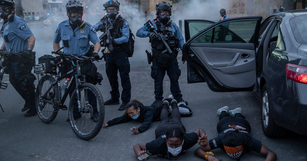 As Protests Engulf the United States, China Revels in the Unrest